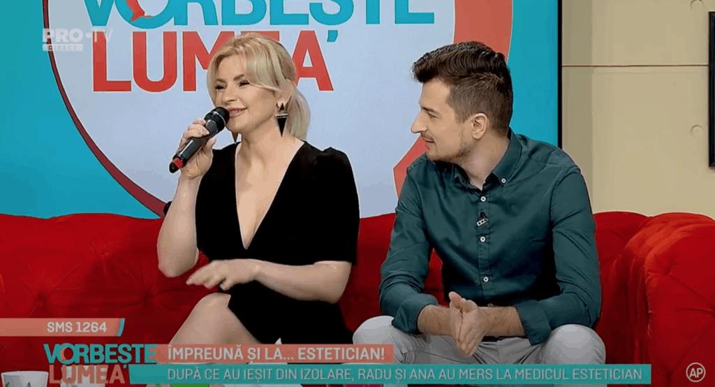 Radu Sirbu si sotia la emisiunea Vorbeste lumea despre vizita la dr Daniela Diveica