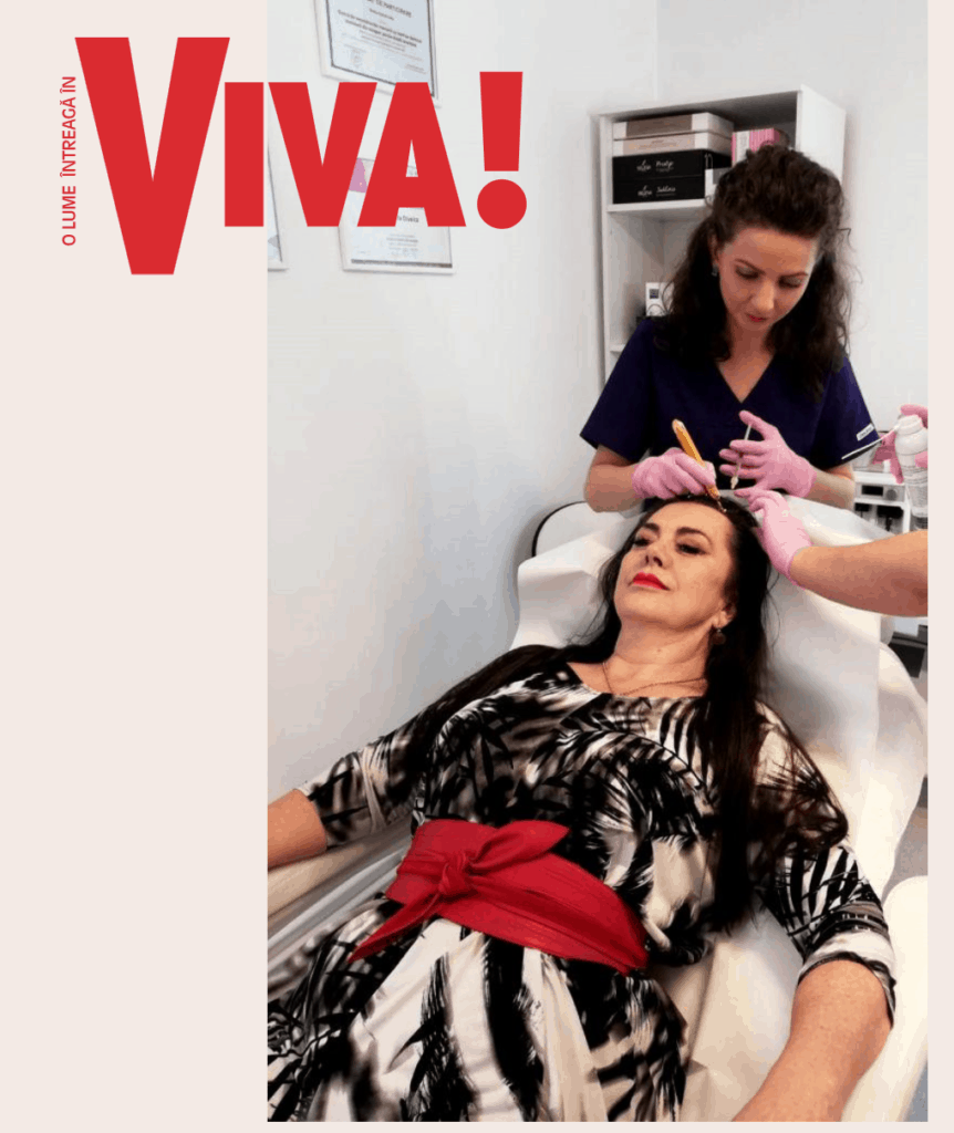 Mama Elenei Gheorghe si-a facut prp la Dr daniela Diveica , VIVA