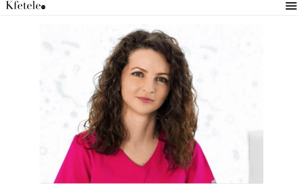 Articol Kfetele despre vaginoplastie, Dr Diveica