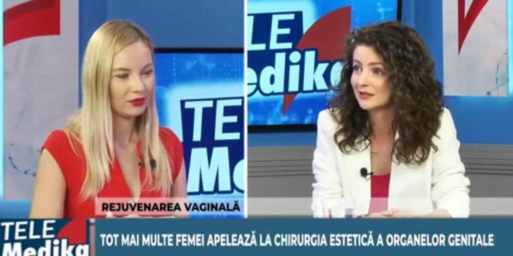 Dr Daniela Diveica despre estetica organelor genitale feminine la Medika tv